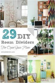 curtains diy room dividers screens divider floor screen cool