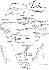 India Outline Map Blank by Dominatepreforeclosures Com Page 2