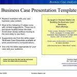 business case powerpoint template business case development