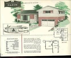 tri level house plans 1970s split level house plans 1980s house plans