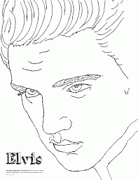 valuable idea elvis coloring pages movie star coloring page