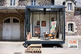cuisine atelier d artiste le cube atelier d artiste un cube dans mon jardin
