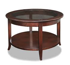 vintage round coffee table in classic coffee table for