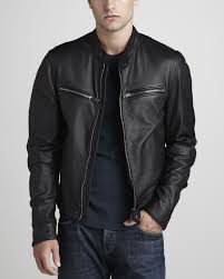top motorcycle jackets burberry brit leather motorcycle jacket in black for men lyst