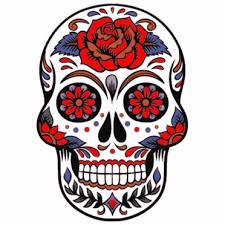 sugar skull sticker u s custom stickers