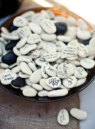 wishing rocks for wedding wedding sign in ideas 55 best wedding guest sign in ideas images