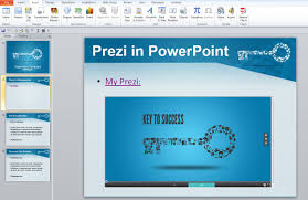 insert prezi classic into powerpoint no plugins required prezibase