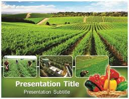organic farming powerpoint templates and backgrounds