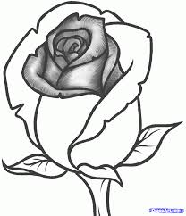 eletragesi easy rose drawing for kids images