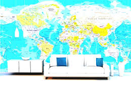 World Map Wallpaper Mural by World Map Wallpaper With Countries Wallpapers Albums Hd Desktop