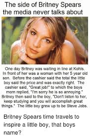 Britney Meme - the side of britney spears the media never talks about one day