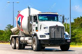kenworth concrete truck quintana roo mexico may 16 2017 concrete mixer truck kenworth