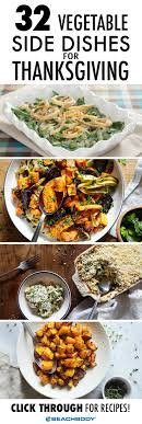 32 thanksgiving vegetable side dishes the beachbody