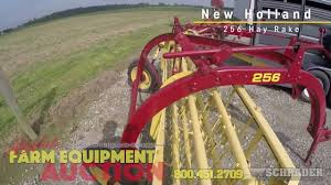 new holland 256 hay rake youtube