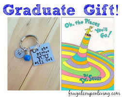 oh the places you ll go graduation gift graduation gift idea oh the places you ll go keychain book