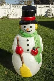 lighted tinsel snowman outdoor sculpture ideas