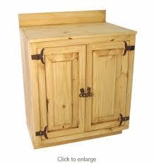 Pine Bathroom Furniture Mexican Rustic Pine Bathroom Vanity