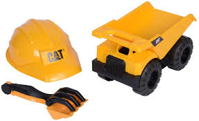 cat tough tracks construction crew sand set toy at mighty ape nz
