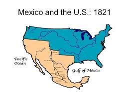 map of mexico 1821 cultures clash in the southwest the united states extends it s