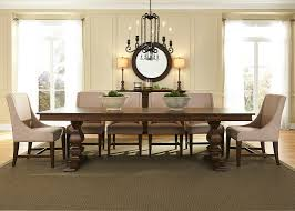 trestle dining table with pine and polar solids and cathedral trestle dining table with pine and polar solids and cathedral hickory veneers in antique brownstone finish