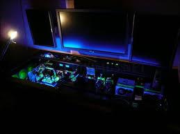 incredible custom built computer desk mod others