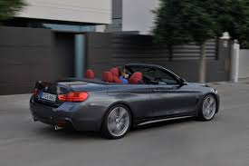 bmw convertible second bmw 4 series convertible f33 435i 428i official specs