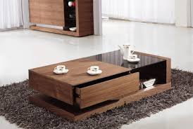 Walnut And Glass Coffee Table Walnut Black Glass Coffee Table Home Design Ideas