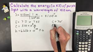 energy of light calculator how to calculate energy from wavelength electromagnetic radiation