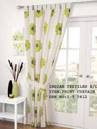 Curtains Printed Designs Designer Curtain Flower Print Curtain Exporter From New Delhi