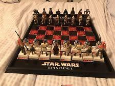star wars chess sets star wars chess set ebay