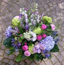 dansk large purple summer bouquet dansk flowers