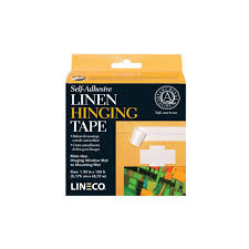 150 Ft In M by Amazon Com Lineco Linen Self Adhesive Hinging Tape 1 25inx150ft