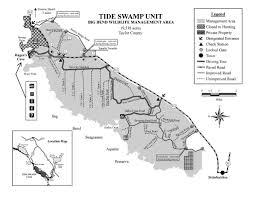 Big Bend Map Tide Swamp Unit Big Bend Wma Maplets