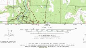 United States Topographic Map by Blake Miller How To Figure Out Topo Map Scales