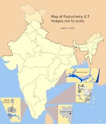 Nursing Compact States Map by Puducherry District Wikipedia