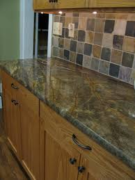 kitchen inexpensive kitchen countertop material ceramic tiled