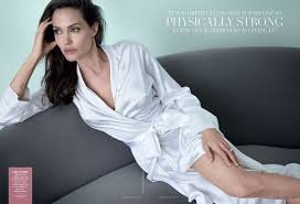 Vanity Fair Magazine Change Of Address Cover Exclusive Angelina Jolie On Being Married To Brad Pitt U201cit