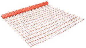 plastic orange safety fence 1 m 10 m departments diy at b u0026q