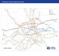 New York Rail Map by Tfl Releases New Rail Map Showing Scale Of Its Overground