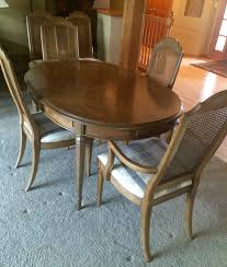 Drexel Heritage Dining Table And  Chairs - Drexel heritage dining room set