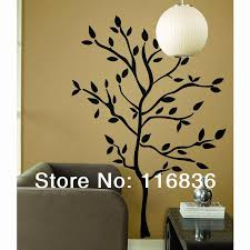 Home Decor Tree Branches Sia Wall Sticker New Large 200x80cm Vinyl Wall Decal Art Black