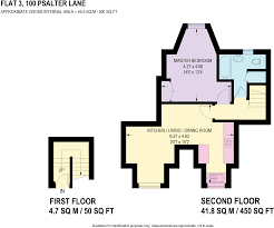 50 Sq M To Sq Ft 1 Bedroom Apartment For Sale In Flat 3 100 Psalter Lane S11