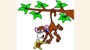 coloring pages for kids cute monkey coloring pages youtube