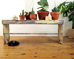 Antique Hall Bench Antique Bench Etsy