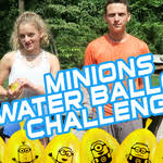 Challenge Water Balloon Bunch O Balloons Water Balloon Challenge With Minion Bunch O
