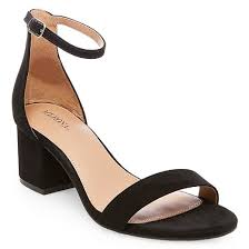 Women U0027s Marcella Low Block Heel Pumps With Ankle Straps Merona