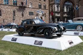 vintage alfa romeo florence italy june 15 limited edition vintage car alfa romeo