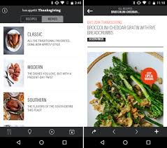 thanksgiving 2014 dinner menu pull off an amazing thanksgiving feast with these 12 android apps