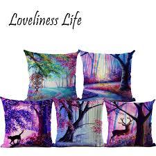 Sofa Decorative Pillows by Online Get Cheap Purple Throw Pillows Aliexpress Com Alibaba Group