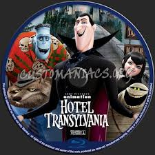 hotel transylvania blu ray label dvd covers u0026 labels